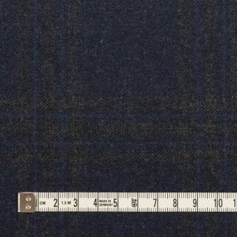 ウール×チェック(プルシアンブルー&チャコールグレー)×ツイード サムネイル4