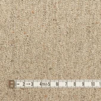 ウール&ナイロン混×ミックス(ベージュ)×ツイードストレッチ_全3色 サムネイル4