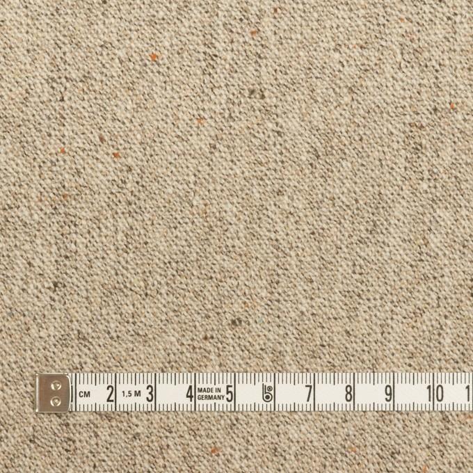 ウール&ナイロン混×ミックス(ベージュ)×ツイードストレッチ_全3色 イメージ4