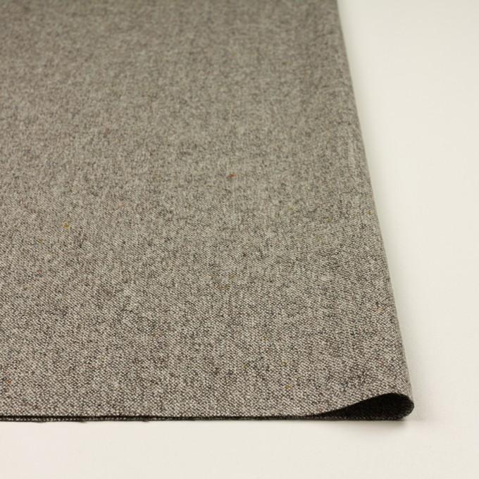 ウール&ナイロン混×ミックス(グレー)×ツイードストレッチ_全3色 イメージ3