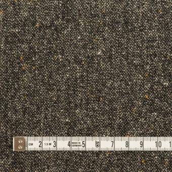 ウール&ナイロン混×ミックス(チャコール)×ツイードストレッチ_全3色 サムネイル4