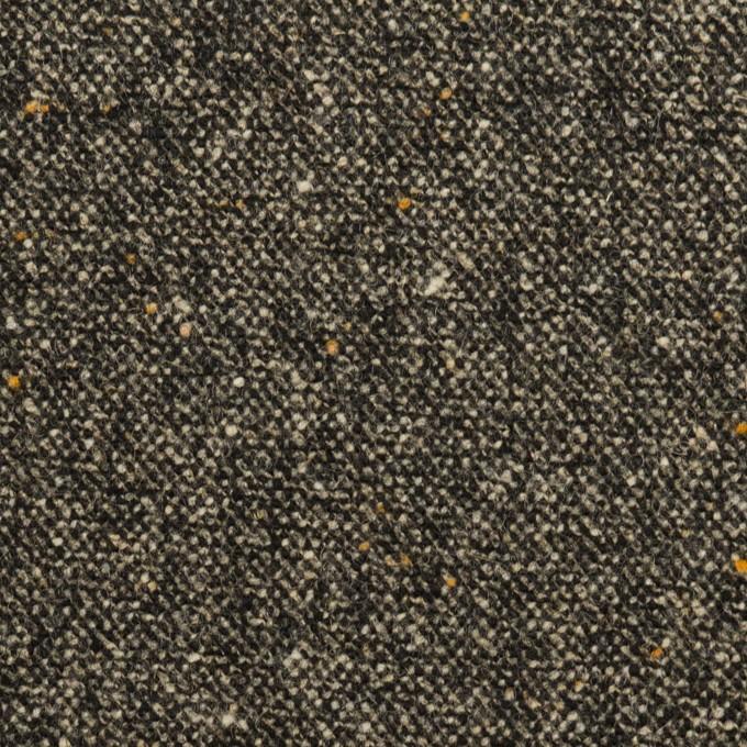 ウール&ナイロン混×ミックス(チャコール)×ツイードストレッチ_全3色 イメージ1