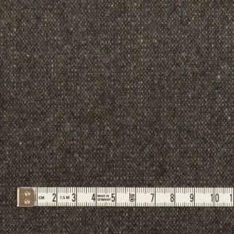 ウール&ポリエステル混×ミックス(アッシュブラウン)×ツイードストレッチ サムネイル4