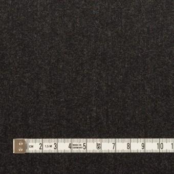 ウール×無地(チャコール)×サージ サムネイル4