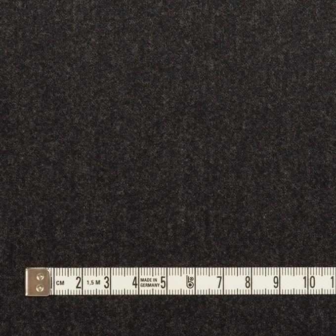 ウール×無地(チャコール)×サージ イメージ4