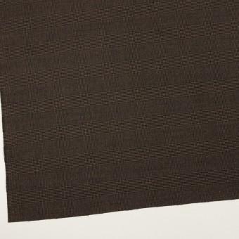 ポリエステル&レーヨン混×チェック(ブラウン)×サージストレッチ サムネイル2