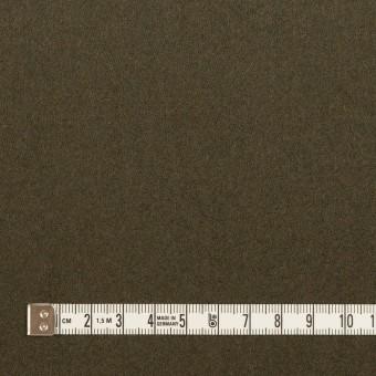 ウール&ナイロン×無地(カーキグリーン&オレンジブリック)×Wフェイスツイード_全2色 サムネイル4