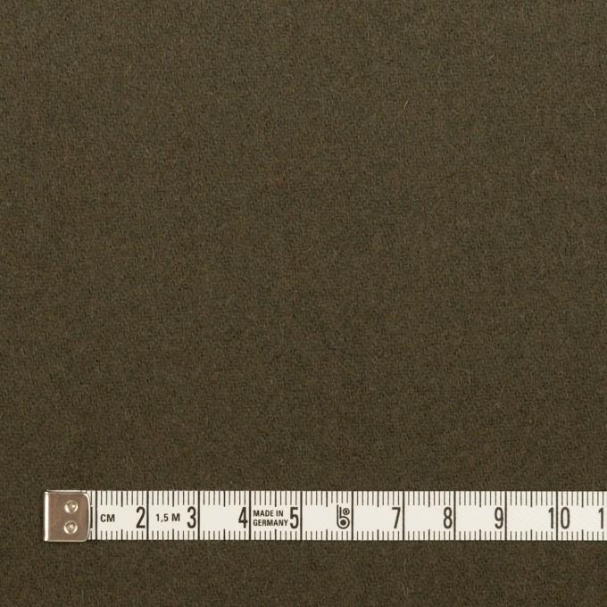 ウール&ナイロン×無地(カーキグリーン&オレンジブリック)×Wフェイスツイード_全2色 イメージ4