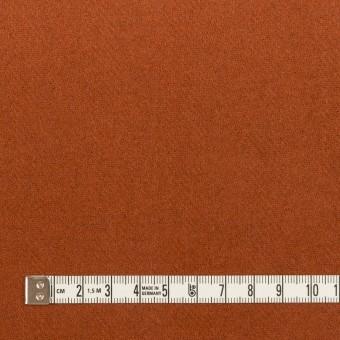 ウール&ナイロン×無地(カーキグリーン&オレンジブリック)×Wフェイスツイード_全2色 サムネイル6