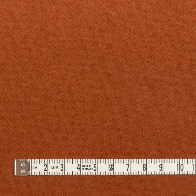 ウール&ナイロン×無地(カーキグリーン&オレンジブリック)×Wフェイスツイード_全2色 イメージ6