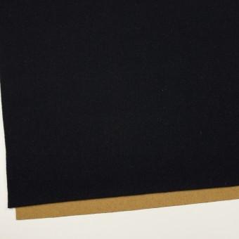 ウール&ナイロン×無地(ブラック&オーカー)×Wフェイスツイード_全2色 サムネイル2