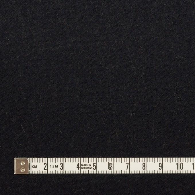 ウール&ナイロン×無地(ブラック&オーカー)×Wフェイスツイード_全2色 イメージ4