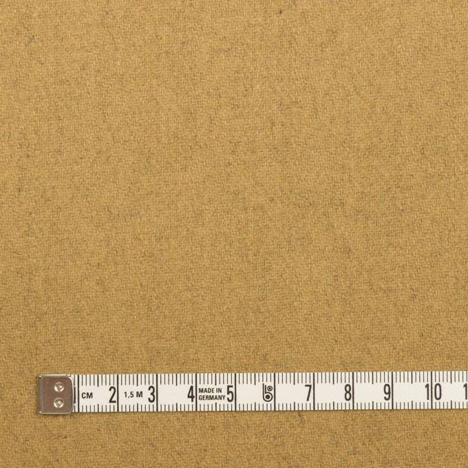 ウール&ナイロン×無地(ブラック&オーカー)×Wフェイスツイード_全2色 イメージ6