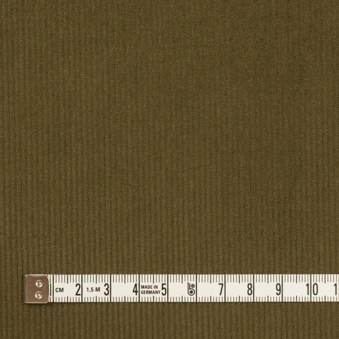コットン×無地(カーキグリーン)×中細コーデュロイ イメージ4