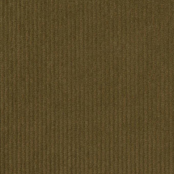 コットン×無地(カーキグリーン)×中細コーデュロイ イメージ1