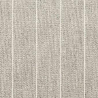 コットン×ストライプ(ライトグレー)×ビエラ_全2色