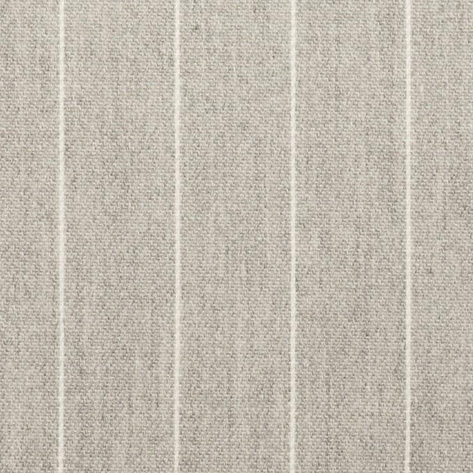 コットン×ストライプ(ライトグレー)×ビエラ_全2色 イメージ1