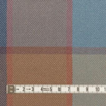 コットン&レーヨン×チェック(ブルーグレー)×斜子織_全2色 サムネイル4