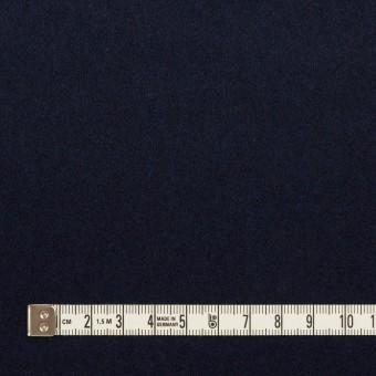 ウール×無地(ネイビー)×フラノ(フランネル) サムネイル4