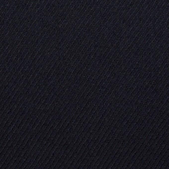 ウール×無地(ダークネイビー)×サキソニー イメージ1