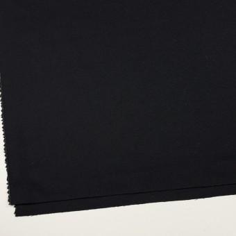 ウール×無地(ブルーブラック)×ジョーゼット サムネイル2