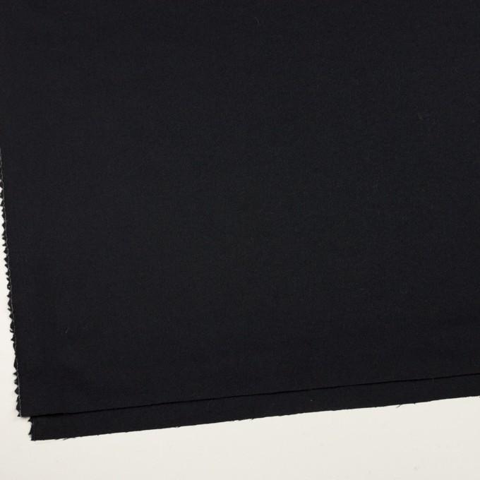 ウール×無地(ブルーブラック)×ジョーゼット イメージ2