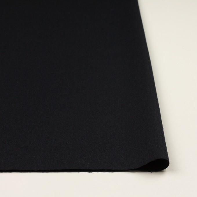 ウール×無地(ブルーブラック)×ジョーゼット イメージ3