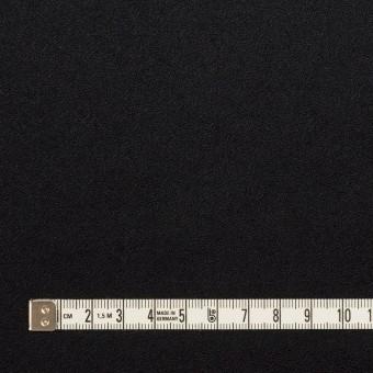 ウール×無地(ブルーブラック)×ジョーゼット サムネイル4