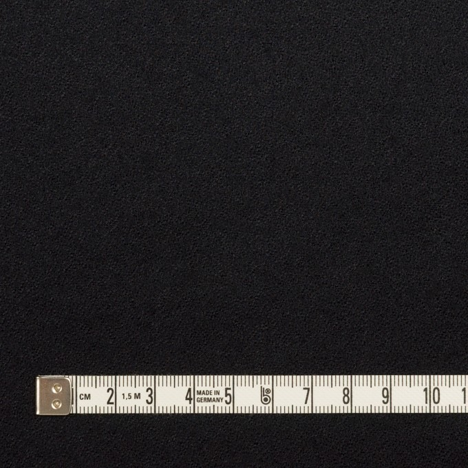 ウール×無地(ブルーブラック)×ジョーゼット イメージ4
