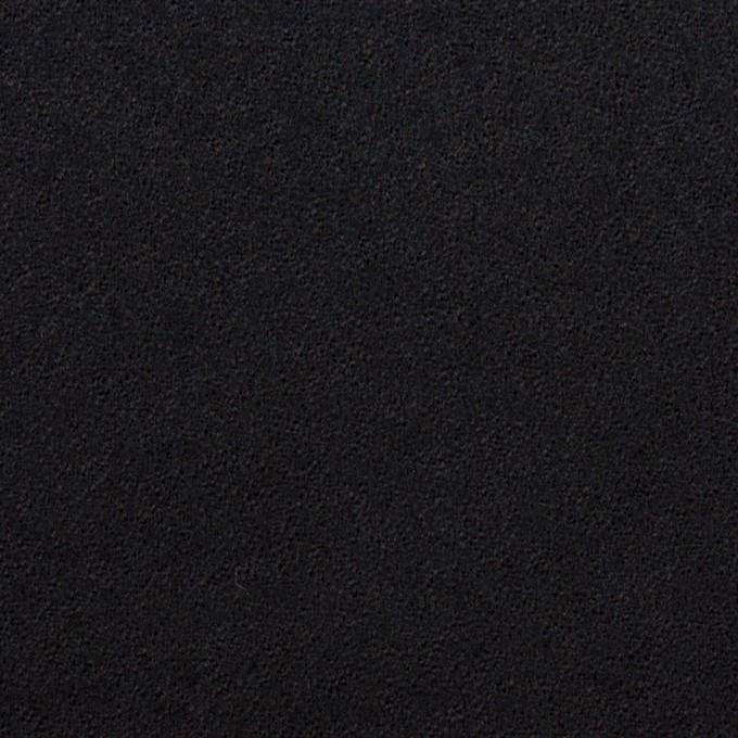 ウール×無地(ブルーブラック)×ジョーゼット イメージ1