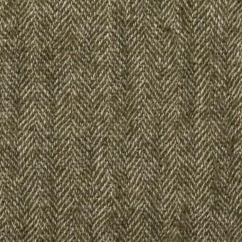ウール&コットン混×ミックス(カーキグリーン)×ガーゼ サムネイル1