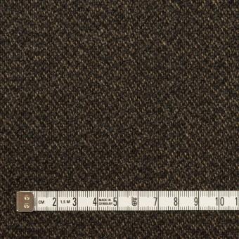 ウール&ポリウレタン×ミックス(ダークブラウン)×ツイード・ストレッチ サムネイル4