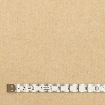 ウール&アクリル混×無地(ライトベージュ)×ツイード サムネイル4