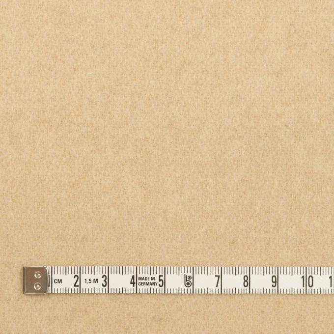 ウール&アクリル混×無地(ライトベージュ)×ツイード イメージ4