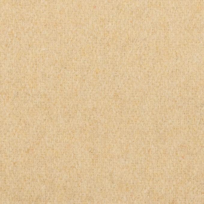 ウール&アクリル混×無地(ライトベージュ)×ツイード イメージ1