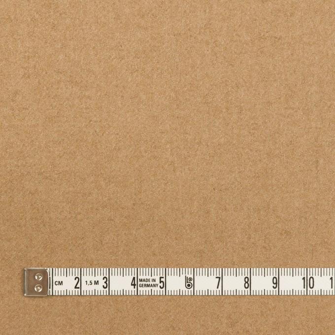 ウール×無地(オークル)×サージ イメージ4