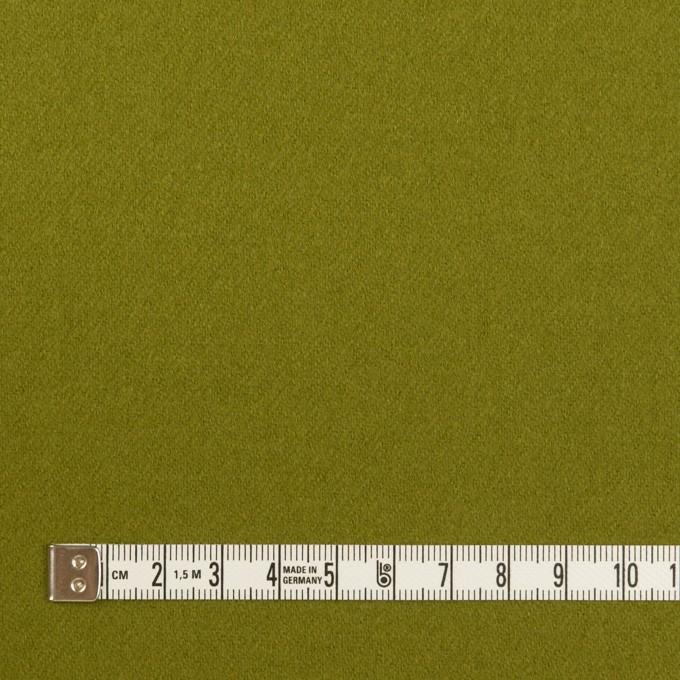 ウール&ナイロン×無地(アイビーグリーン)×フラノ(フランネル) イメージ4