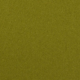 ウール&ナイロン×無地(アイビーグリーン)×フラノ(フランネル)