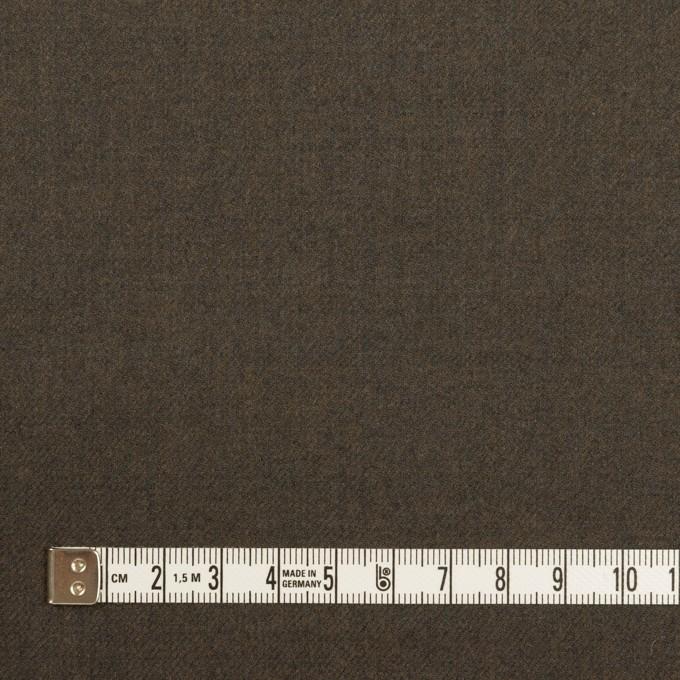 ウール×無地(グレイッシュブラウン)×サージ イメージ4
