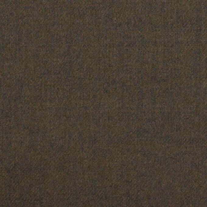 ウール×無地(グレイッシュブラウン)×サージ イメージ1