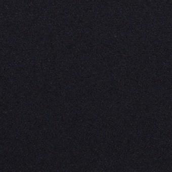 ウール&ポリウレタン×無地(ダークネイビー)×サージストレッチ