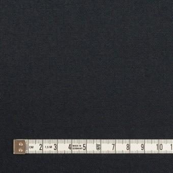 ウール×無地(アッシュネイビー)×サージ サムネイル4