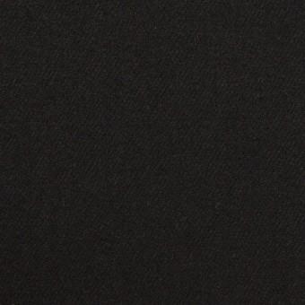 ウール×無地(ブラック)×サージ