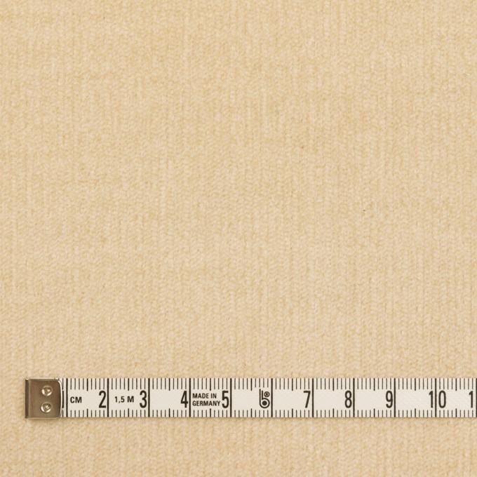 コットン&ポリウレタン×無地(ライトベージュ)×中細コーデュロイ・ストレッチ_全2色 イメージ4