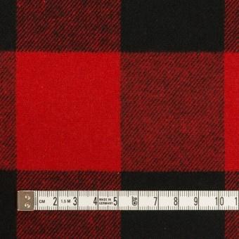 コットン×チェック(レッド&ブラック)×ビエラ サムネイル4