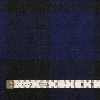 コットン×チェック(マリンブルー&ブラック)×ビエラ サムネイル4