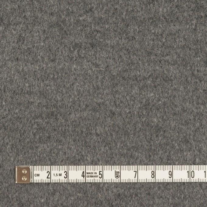 アンゴラ&ウール×無地(グレー)×ビーバー イメージ4