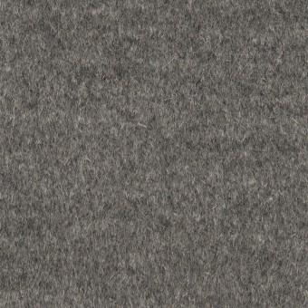アンゴラ&ウール×無地(グレー)×ビーバー