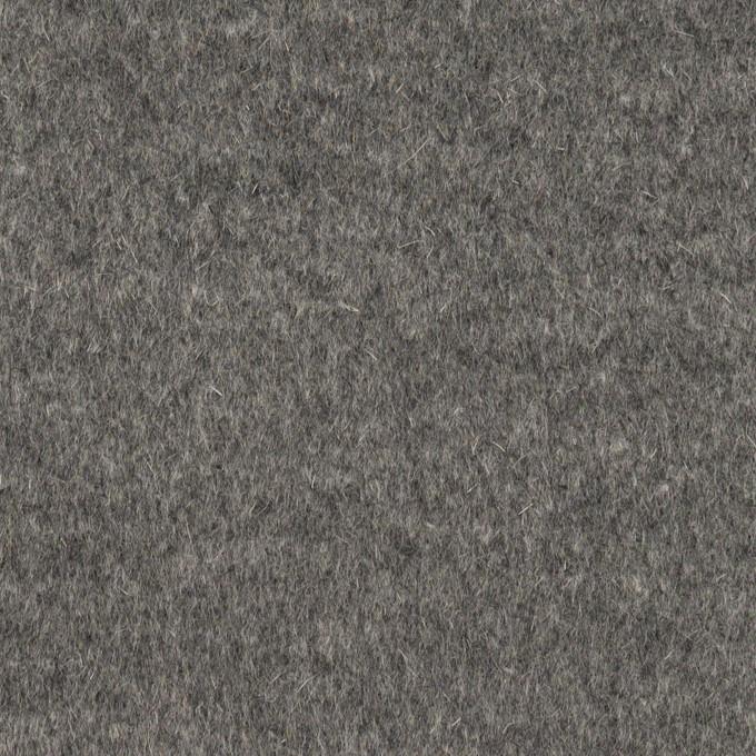 アンゴラ&ウール×無地(グレー)×ビーバー イメージ1