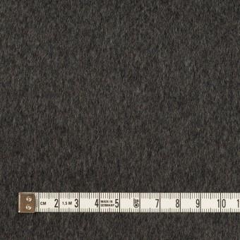 ウール&カシミア×無地(チャコールグレー)×ビーバー サムネイル4
